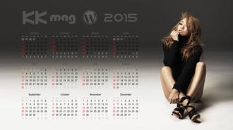2015 年カレンダー